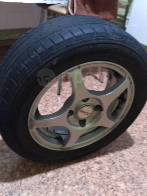 """Оригинальный комплект летних колес от Ford Fiesta. x14"""""""