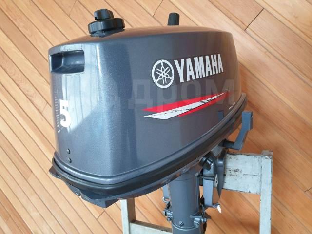 Yamaha. 5,00л.с., 2-тактный, бензиновый, нога S (381 мм), 2016 год