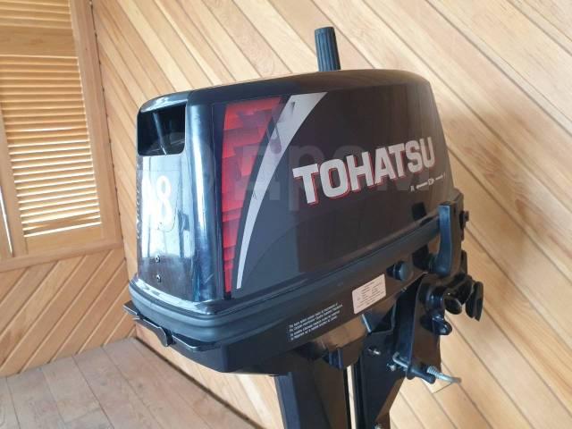 Tohatsu. 9,80л.с., 2-тактный, бензиновый, нога S (381 мм), 2018 год