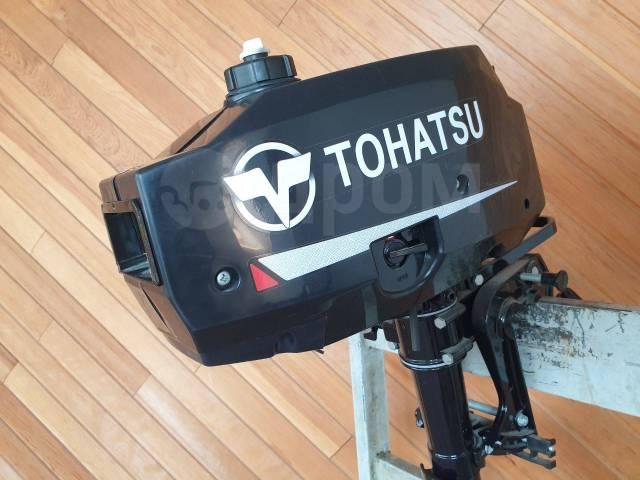Tohatsu. 3,50л.с., 2-тактный, бензиновый, нога S (381 мм), 2019 год