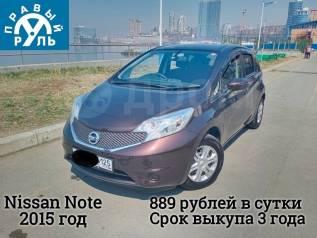 Автомобиль под выкуп Nissan Note 2015 год во Владивостоке