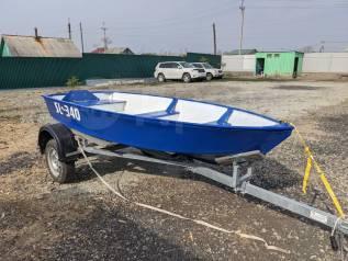 Продам алюминиевую японскую лодку