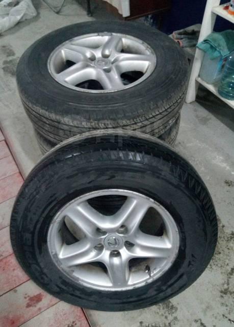 """Продам резину """"Bridgestone"""" на литых дисках. x16"""""""