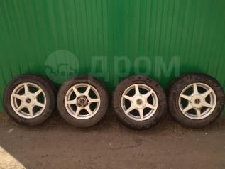 Комплект колёс на зимней жирной резине