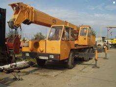автокран МТП1025, 1990