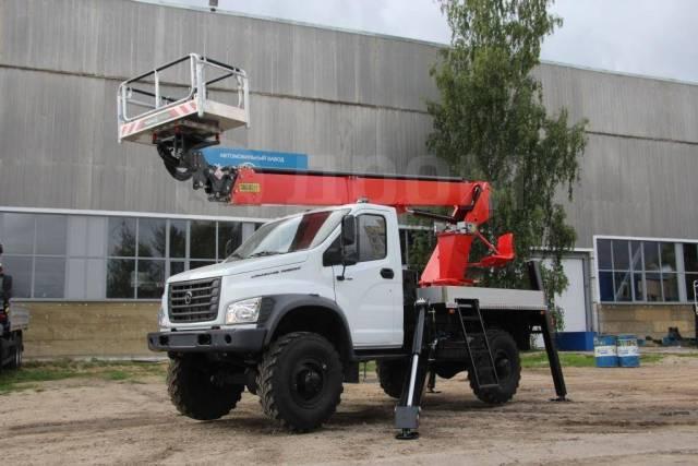 ГАЗ Садко Next. Автовышка TR320 на базе ГАЗ-С41А23 Садко Некст. Под заказ