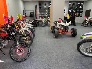 Новые кроссовые мотоциклы в наличии. Сервисное обслуживание.