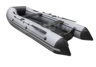 Надувная лодка ПВХ, ORCA 420 НДНД, светло-серый/темно-серый