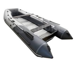 Надувная лодка ПВХ, ORCA 400GT НДНД, красный/темно-серый