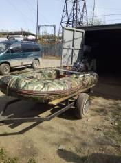 Продам надувную лодку и прицеп
