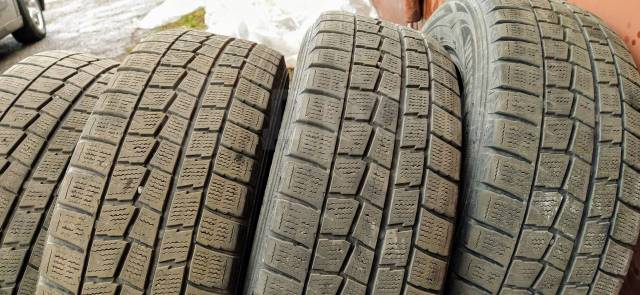 Dunlop Winter Maxx. зимние, без шипов, 2014 год, б/у, износ 50%