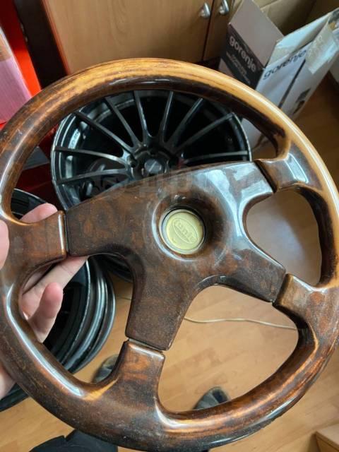 Руль деревянный Junis