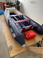 Продам лодку пвх Форвард с мотором и трейлером