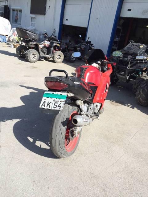 Honda CBR 600. 600куб. см., исправен, птс, с пробегом