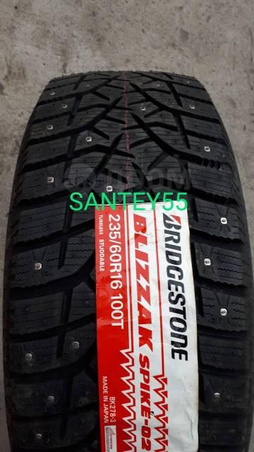 Bridgestone Blizzak Spike-02 JAPAN, 235 60 R16