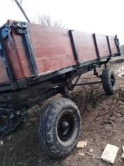 Тракторная телега самосвальная, 1985