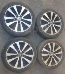 Литые диски R17 + летние шины