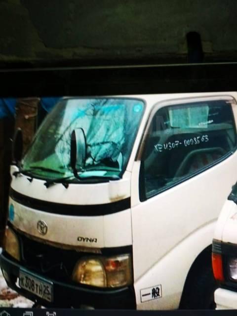 Продается кабина от грузовика Toyota Dyna xzu-307 0008563