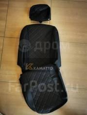 Модельные штатные чехлы Toyota Aqua (Экокожа)