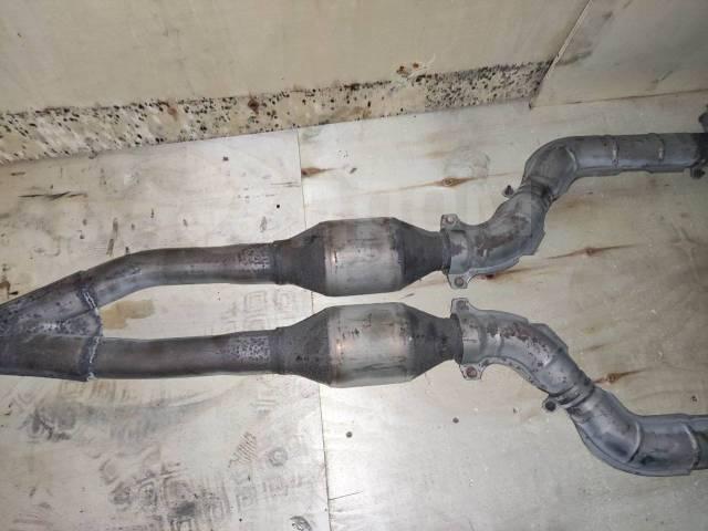 Приемная труба глушителя катализатор Toyota Mark X GRX121