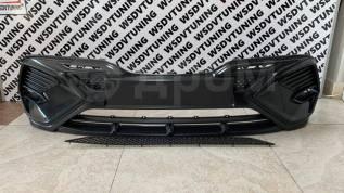 Накладка на передний бампер Harius для Toyota Camry XV70 2017-2021г
