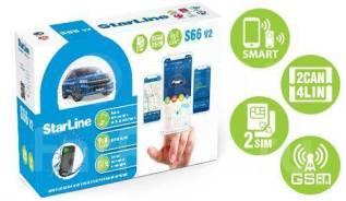 Автосигнализация StarLine S66 V2 BT GSM