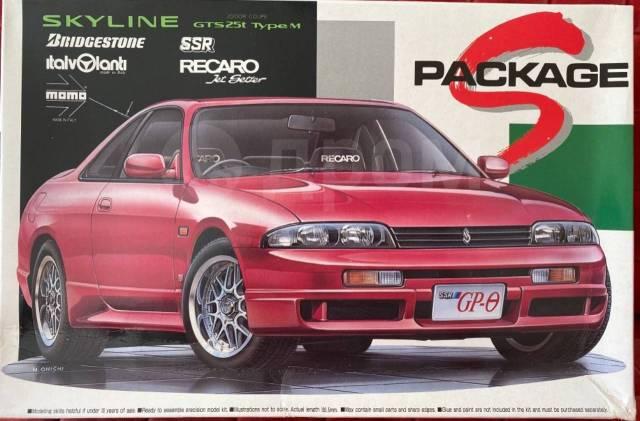 Редкая сборная модель Nissan Skyline R33. +Подарок!