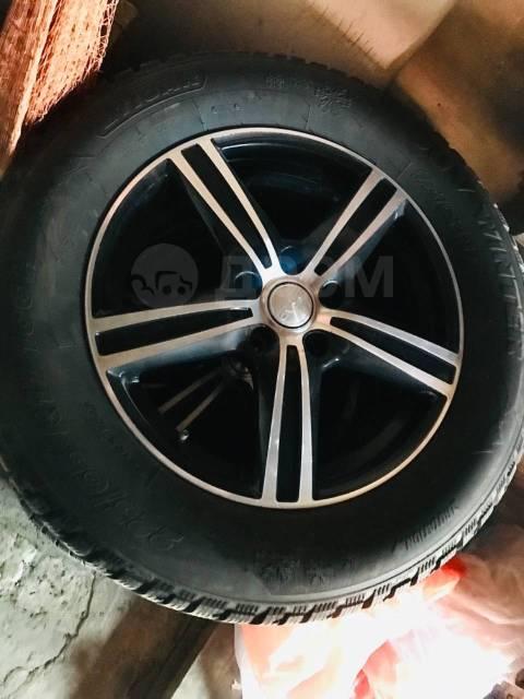 Жирный комплект зимних колёс. С Рубля!