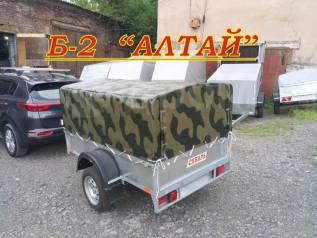 Прицеп Б-2 Алтай усиленный кузов 205х130см