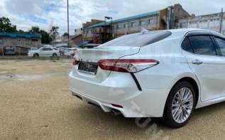 Задний бампер от американской версии Toyota Camry XV70 2017-2021г