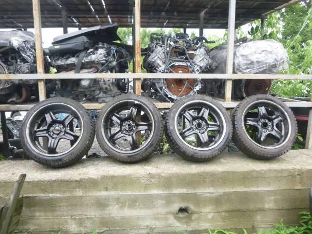 Продам комплект колес enkei R17 + резина зима бонус