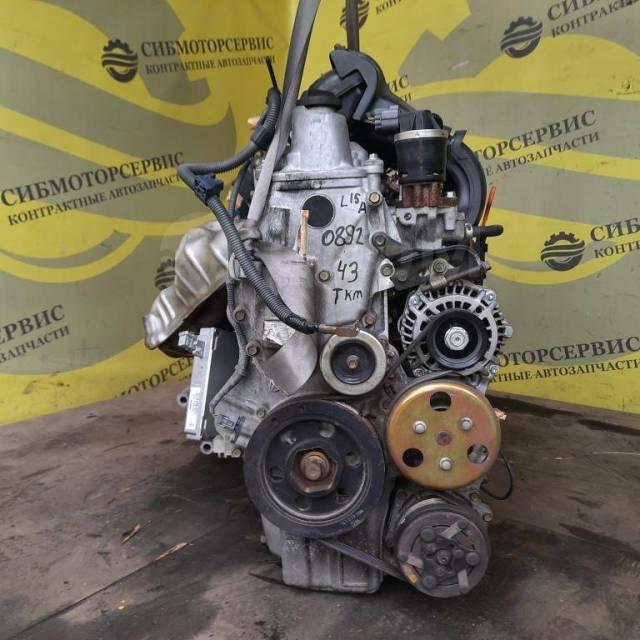 Двигатель в сборе с АКПП (SYEA) и стартером L15A Mobilio GB1. Пробег 43 11000PWC802