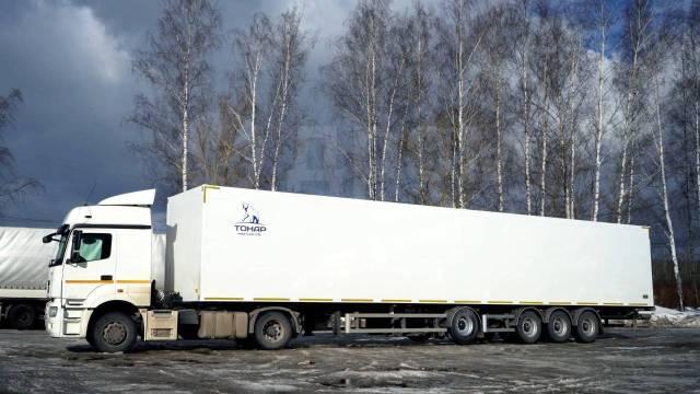 Тонар. Полуприцеп изотермический R4-16 (41 евро палет), 29 400кг. Под заказ
