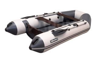 Лодка ПВХ Хатанга-290 НДНД св. серый/т. серый
