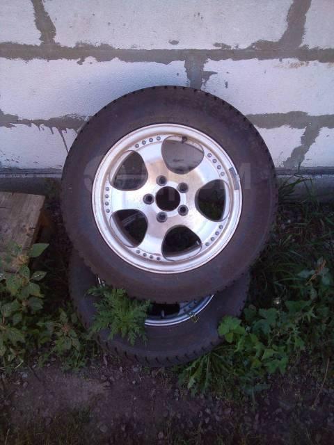 """Комплект колёс. 6.5x15"""" 5x114.30 ET-6 ЦО 65,0мм."""