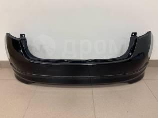 Бампер задний Nissan Note (E12) 2012-2016г. Оригинал Цвет: Черный