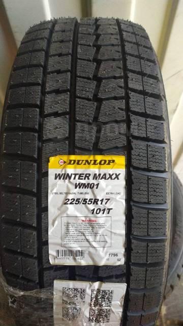 Dunlop Winter Maxx WM01, 225/55R17 MADE IN JAPAN 2021г