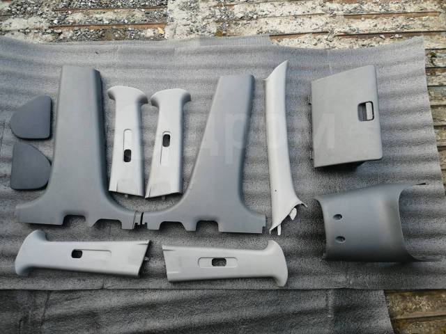 Пластик салона MMC Airtrek