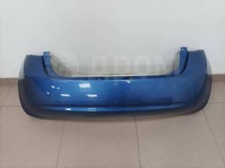 Бампер задний Nissan Note (E12) 2012-2016 год цвет: Синий.