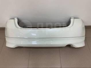 Бампер задний Nissan Note(E12) 2012-2016 год белый с губой оригинал.