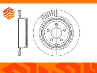 Диск тормозной вентилируемый G-Brake GR20116 задний