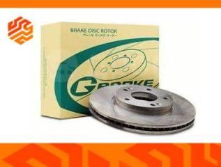 Диск тормозной перфорированный G-Brake GFR20116L левый задний