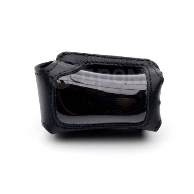 Чехол на брелок сигнализации Star-Line A94/A62/A92 кожаный черного цвета