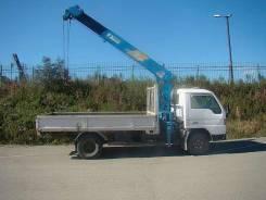 Грузоперевозки. грузовик с краном. Mazda Titan