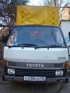 Toyota HiAce Truck (борт,тент), 1991