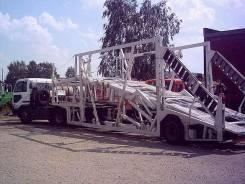 Автовоз на 6 машин Nissan Diesel Tractor