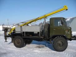 Буровая установка на базе ГАЗ БМ-302Б