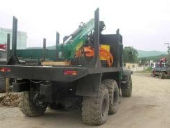 Продается новый КрАЗ лесовоз с гидоманипулятором Loglift 65s