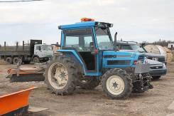 Трактор Iseki с культиватором