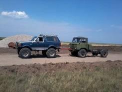 Вездеход на мостах ГАЗ-66
